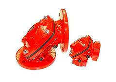 Cast iron angle valve