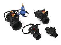 Plastic valve range