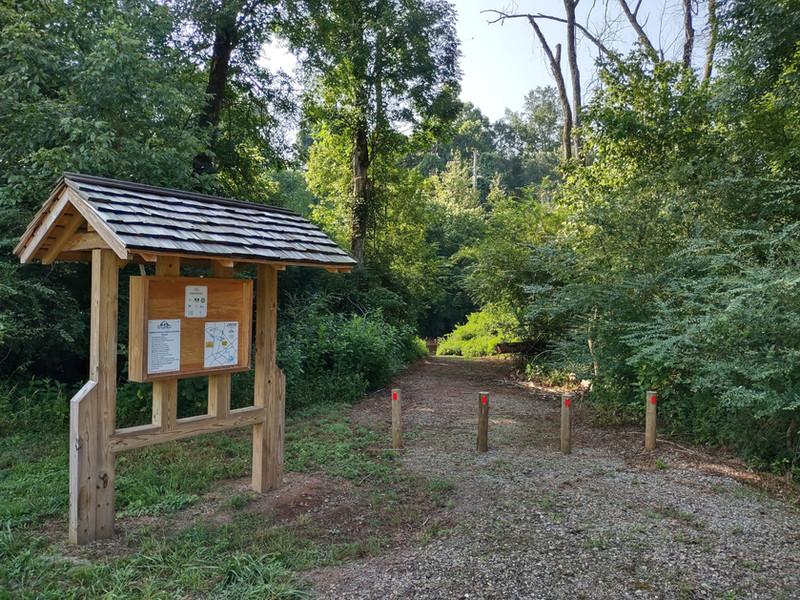 Cooley Family Landing Trail