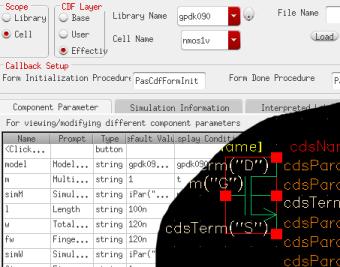 pin parameter mapping