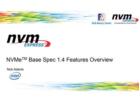NVMe 1.4のハイライト