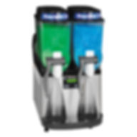 bunn-ultra-2-hp-high-performance-slushy-granita-frozen-drink-machine-with-2-hoppers-black-amp-stainl