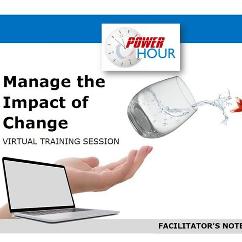 Change Management - Virtual Sessions (Editable)
