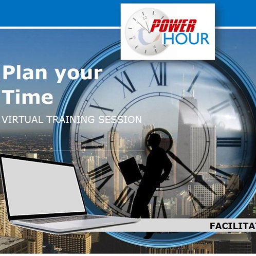 Plan your Time - Virtual Session