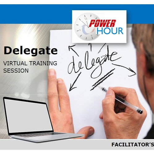 Delegate - VIRTUAL Session