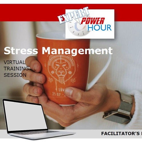 Resilience and Stress Management VIRTUAL Package (PDF)