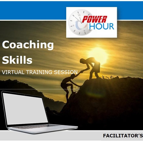 Coach People - VIRTUAL session (PDF Version)