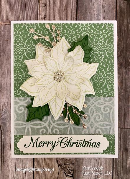 Poinsettia Paper Hoarder