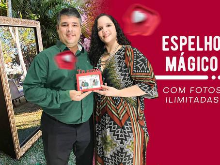 ESPELHO MÁGICO INTERATIVO