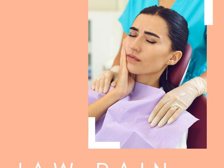 Jaw or TMJ pain approach at Polished Dental Hygiene Vancouver