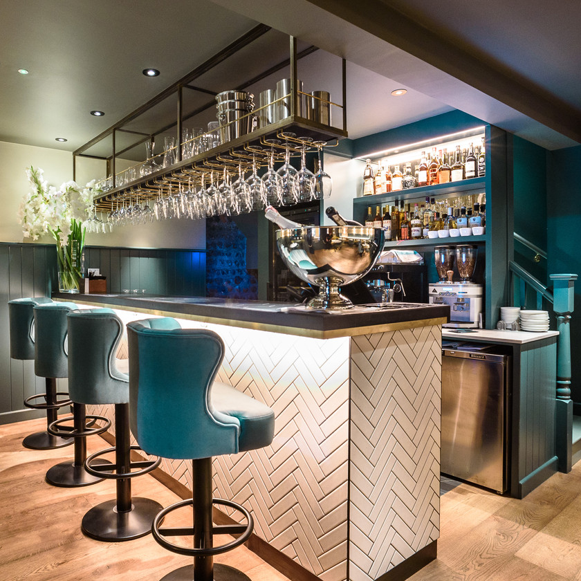 Pascere restaurant  by Stickland Wright interiors