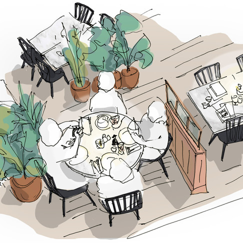 """The """"Covid-Refurb"""": How Restaurants and Cafes can adjust for social distancing"""