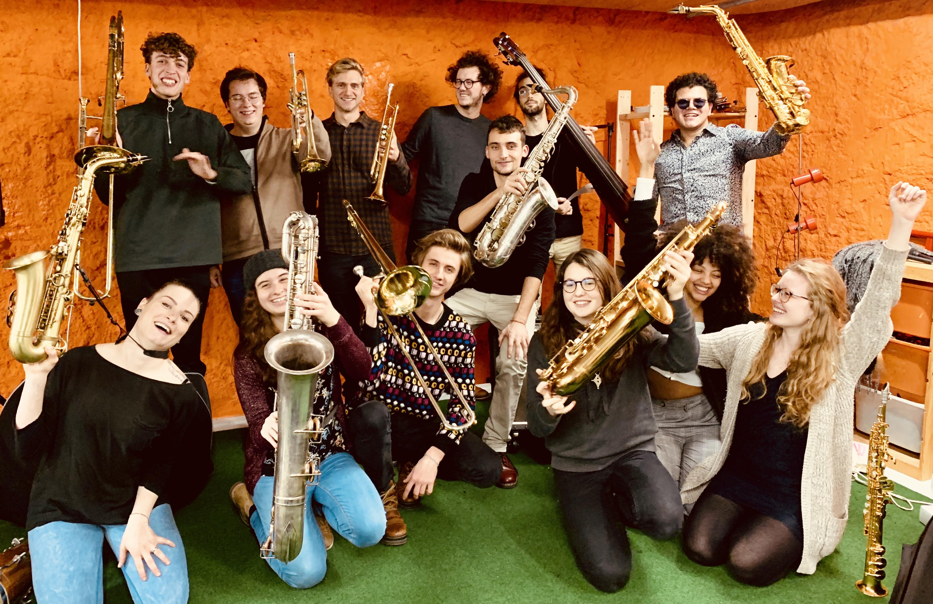 Orchestre des Jeunes Jazzistes de Fribou