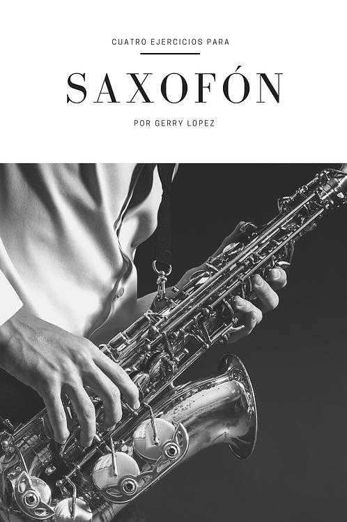 4 ejercicios para saxofón