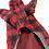 Thumbnail: 赤×黒 ブロックチェックロングT