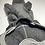 Thumbnail: 上質メルトンフリースのロンパース チャコールグレー/ネイティブ柄ポケット