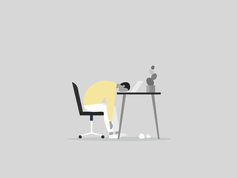burnout illustration