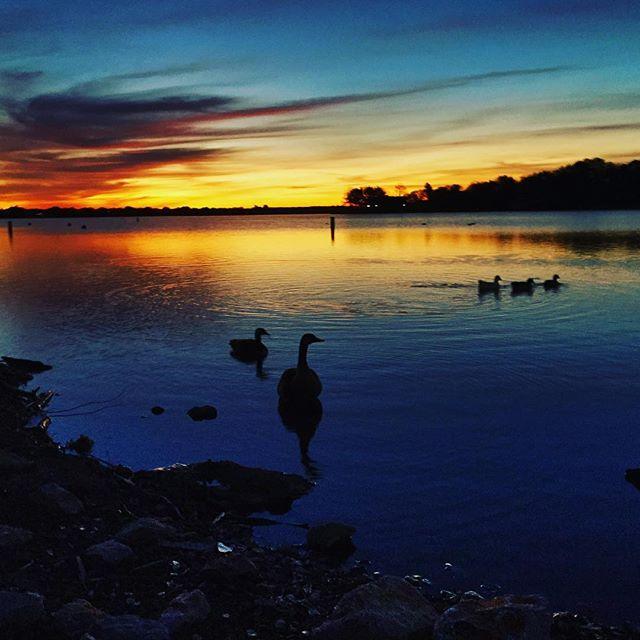 Sunrise on lake Granbury