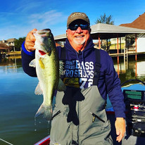 Bill Wilcox catches a nice one on Lake Granbury