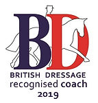 MickyDressage British Dressage Recognised Coach 2019