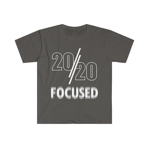 2020 Focused Men's Fitted Short Sleeve Tee