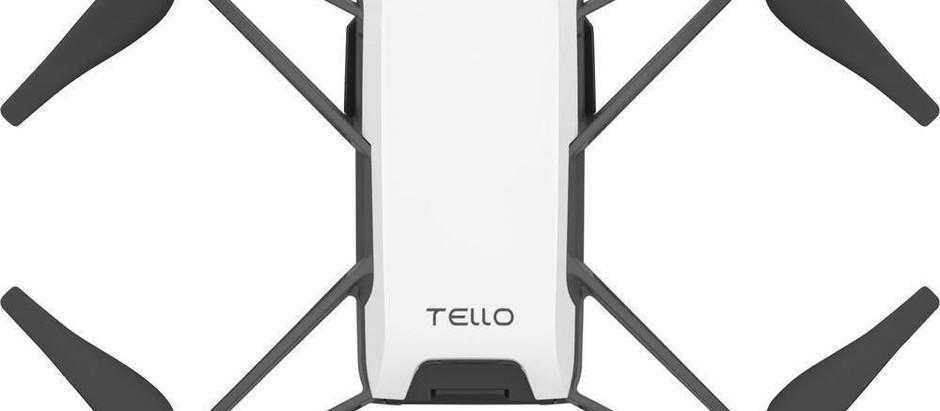 DJI Tello, un minidron de juguete, programable con un procesador potentísimo