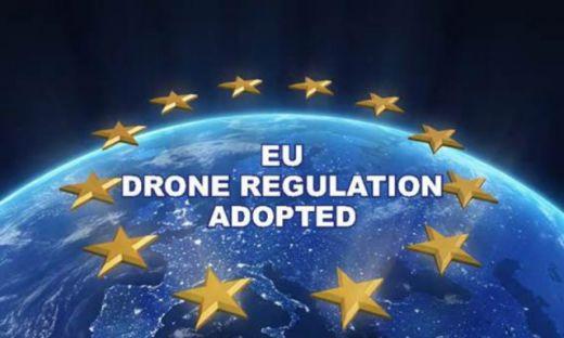 La Unión Europea anuncia una normativa europea para drones.