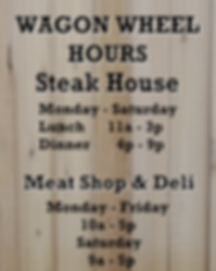 New Store Hours - Door Front Graphic Ima