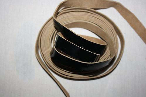 Retzuot - Tefillin Straps, Hand Made {B/W}