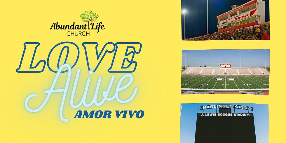LOVE ALIVE - Easter at Boggus Stadium 2021