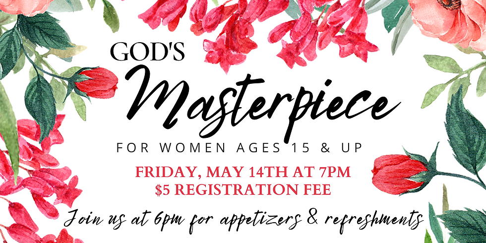 God's Masterpiece Woman's Event