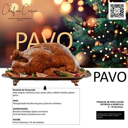 PAVO | Cena de Navidad | 8-10 personas
