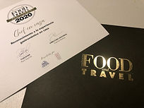Reconocimiento a Chef en Casa de Food &