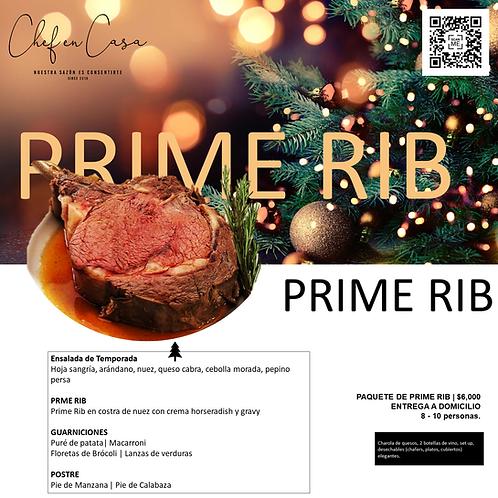 PRIME RIB | Cena de Navidad | 8-10 personas