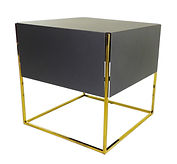 night table, coffee table, side tabl, modern , design, valevsky, metal furniture, golden, cooper, chromium, stainesssteel
