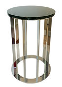 side table Scotty, round table, marble top,
