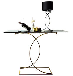 night table, coffee table, side tabl, modern , design, valevsky, metal furniture, golden, cooper, chromium, stainesssteel, console
