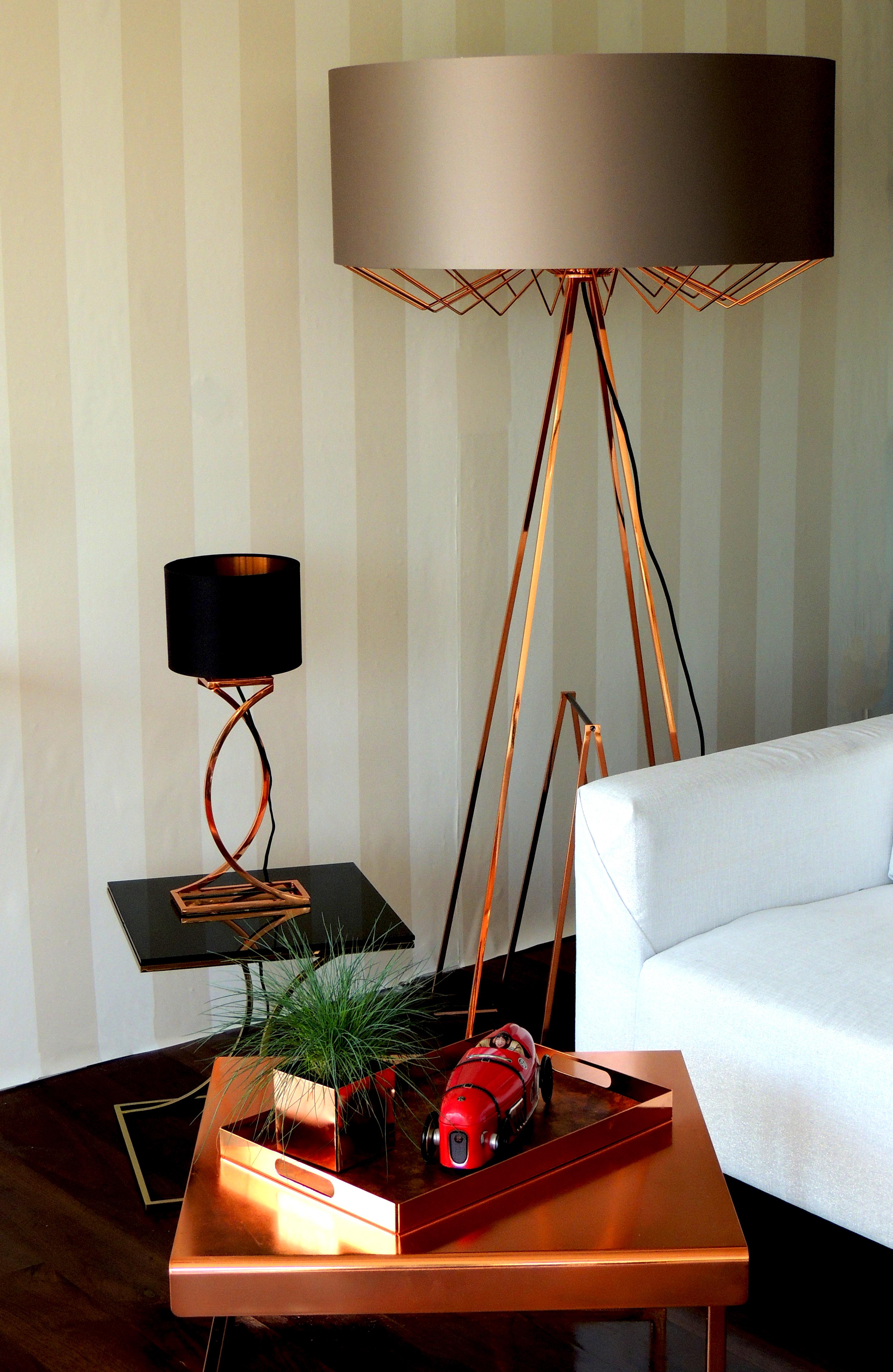 lampa podłogowa lux i stołowa CC