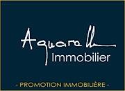 Aquarelle immobilier logo