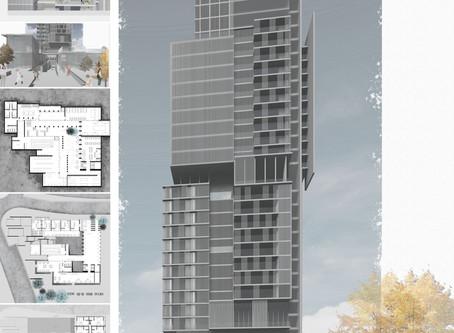Hybrid Building, Students Work