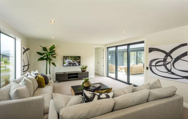 RNP Homes Queenstown Media Lounge