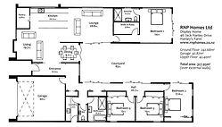 RNP Homes - ground floor plan