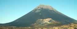 le pico de Fogo 2829 mètres
