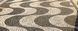 pavés traditionnels de basalte