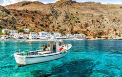 Eau transparente en Crète
