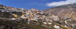 Le village de Olympos à Karpathos