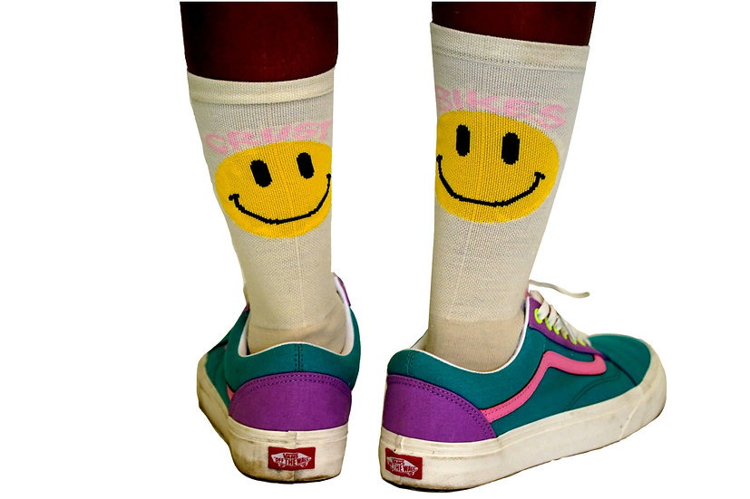 CRUSTBIKES Smile Socks