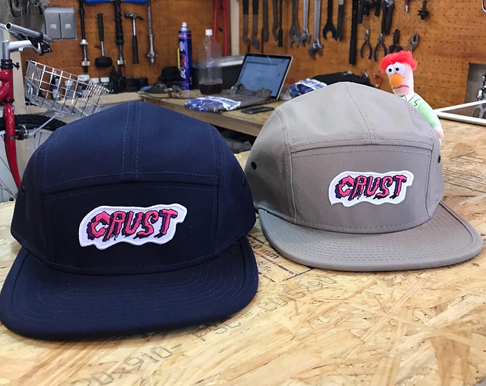 CRUSTBIKES Six Panel Cap