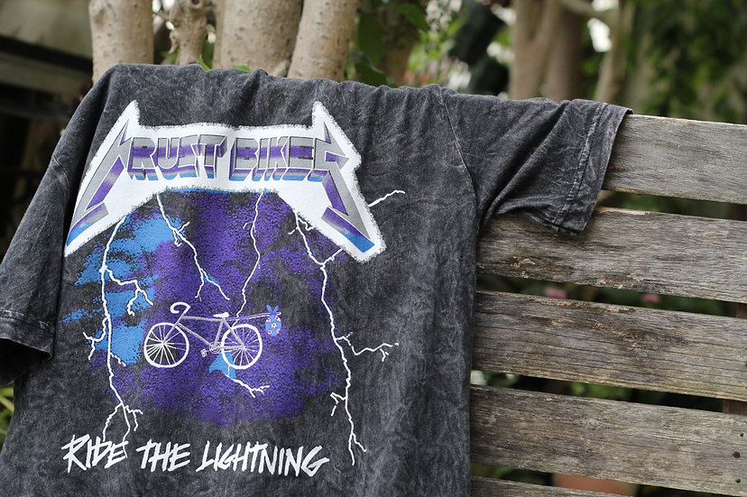 CRUSTBIKES Ride the lightning Tee