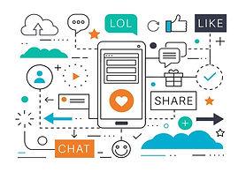 social-media-marketing-vector-illustrati